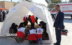 برگزاری بیست و یکمین مانور سراسری زلزله در مدارس شهرستان بافق