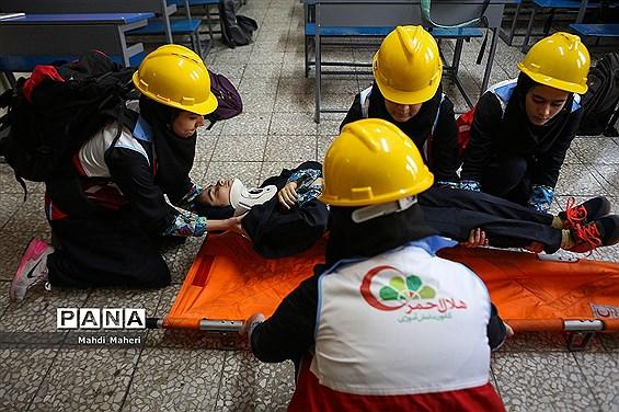 بیست و یکمین مانور زلزله و ایمنی