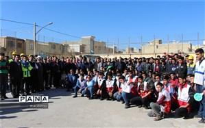 بیست و یکمین مانور سراسری زلزله در اصفهان برگزار شد