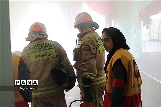 بیست و یکمین مانور زلزله و ایمنی در مرکز مازندران