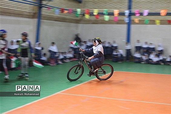 افتتاحیه المپیاد ورزشی درون مدرسهای دبستان بهار