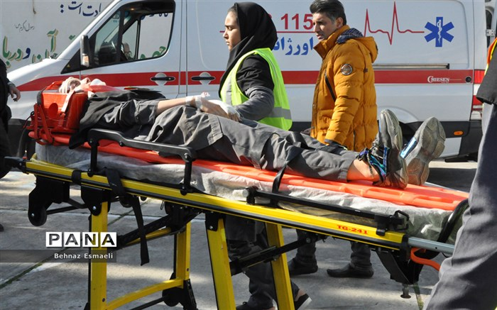 بیست و یکمین مانور زلزله و ایمنی در مدارس مازندران برگزار شد