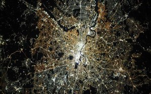 عکس روز ناسا؛ درخشش لندن از فضا