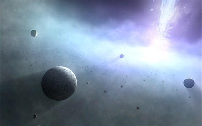 چرخش هزاران سیاره زمینسان به دور سیاهچالههای عظیم