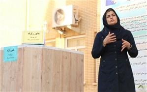 مانور زلزله در هنرستان ریحانه بوشهر برگزار شد