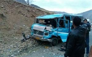 یک کشته و ۱۲ مجروح بر اثر سانحه رانندگی در خوی