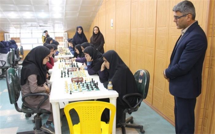 شطرنج مقطع متوسطه دوم دختران استان بوشهر