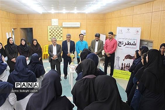 مسابقات شطرنج مقطع متوسطه دوم دختران استان بوشهر