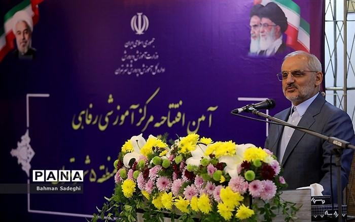 آیین افتتاح مرکز آموزشی و رفاهی منطقه ۵ شهر تهران