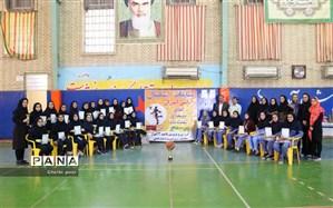 برگزاری رقابت های بستکبال آموزشگاهی در ناحیه ۲ اهواز