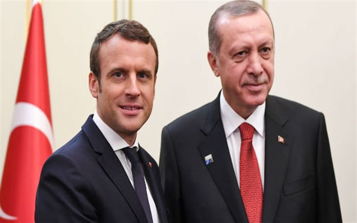 اردوغان مکرون