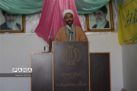 نماز جمعه شهرستان خوسف در مسجد جامع خوسف