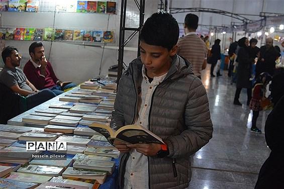 نمایشگاه کتاب در نمایشگاه بین المللی بیرجند