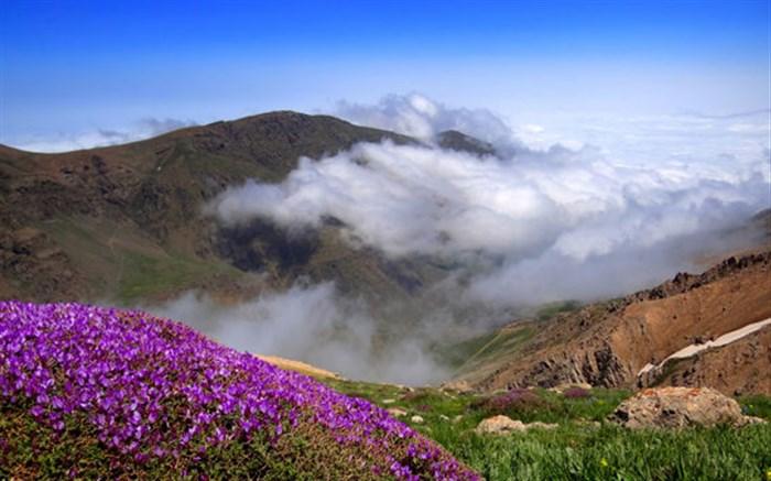 جشن ثبت ملی قله سماموس گیلان