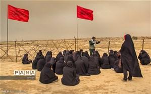 اعزام اولین گروه اردوی راهیان نور دانش آموزان دختر منطقه 11