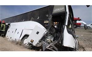 یک کشته و 28 مصدوم براثر واژگونی اتوبوس درشهرستان نظرآباد