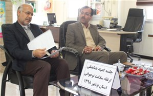 جلسه کمیته ارتقاء  سلامت دوره نوجوانی آموزش و پرورش استان بوشهر برگزار شد