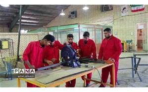 اجرای طرح ایران مهارت در مدارس متوسطه اول آبادان