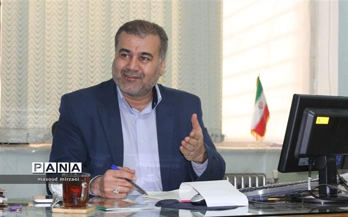 جبار حسنعلی پور  رئیس سازمان دانش آموزی استان قزوین