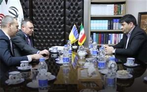 دیدار و گفتگوی سفیر اوکراین و استاندار یزد