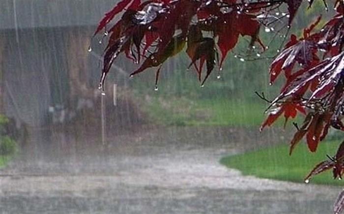 بارش باران و برف در گیلان