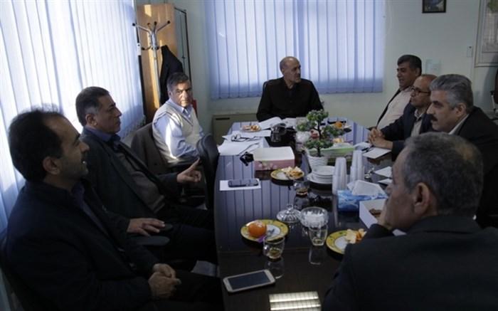نشست کار گروه استانی صندوق ذخیره فرهنگیان