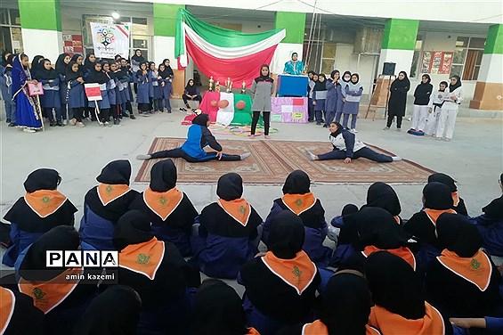 المپیاد ورزشی درون مدرسه ای آموزشگاه هفتم تیر داراب