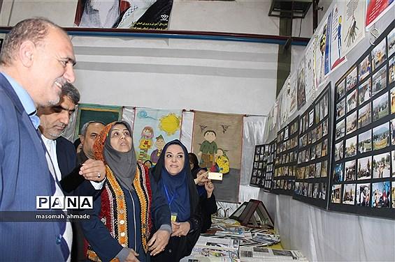 آیین افتتاحیه سومین جشنواره دستاوردهای دانشآموزان کانونهای فرهنگی و تربیتی استان البرز