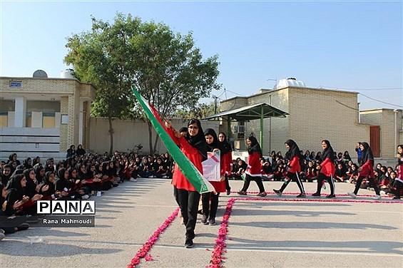 برگزاری المپیاد ورزشی درون مدرسه ای در گلهدار