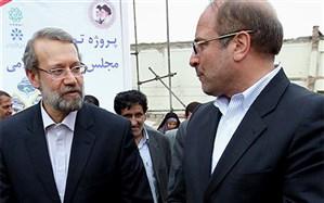 یک گمانهزنی: قالیباف رئیس مجلس میشود، لاریجانی رئیسجمهور