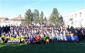 افتتاح سومین زمین چمن مصنوعی در اداره آموزش وپرورش منطقه زبرخان