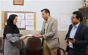 بازدیدمسئولین  آموزش و پرورش ناحیه دو شهرری از مدارس استثنایی