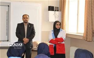 طرح دادرس در دبیرستان حضرت خدیجه کبری(س) اصفهان برگزار شد