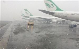 بارش شدید باران برخی پروازهای فرودگاه مهرآباد را لغو کرد