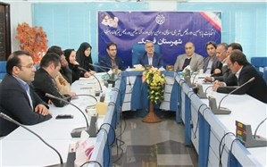 برگزاری نشست هماندیشی  احزاب و فرماندارشهرستان قرچک