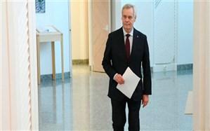 نخستوزیر فنلاند استعفا کرد