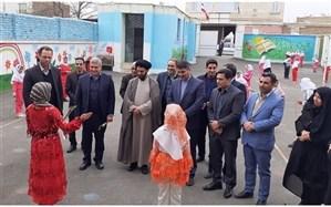 سالن ورزشی آموزشگاه عصمت سلطانیه افتتاح شد