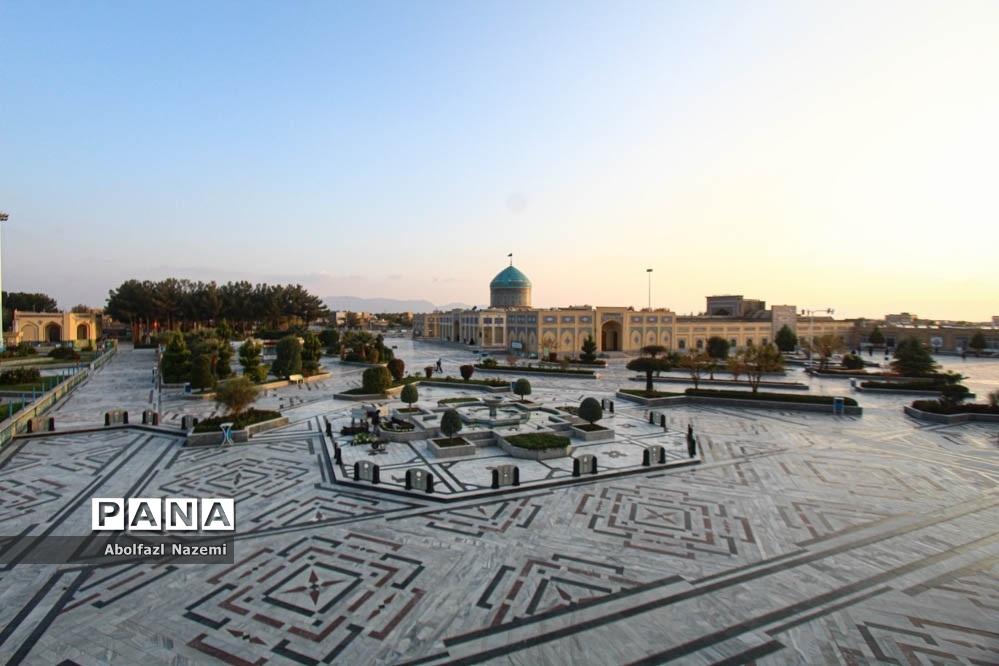 زیارتگاه شهید مدرس در کاشمر