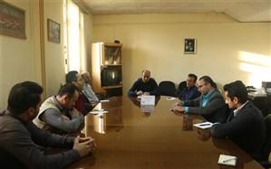 جلسه شورای برنامه ریزی سازمان دانش آموزی استان  گیلان با حضور مدیر سازمان دانش آموزی  برگزار گردید