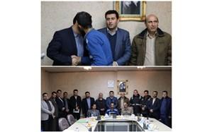 تقدیر از پاکبان فداکار توسط شهرداری منطقه ٣ همدان