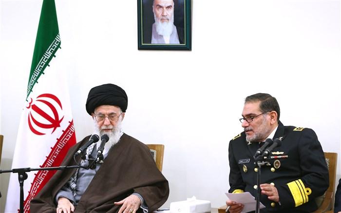 پاسخ رهبر معظم انقلاب به نامه دبیر شورای عالی امنیت ملی: رافت اسلامی مبنا باشد