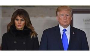 ترامپ و همسرش در کاخ سفید جدا از هم زندگی میکنند