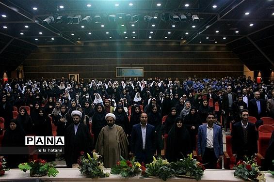 برگزاری آیین تجلیل از حافظین جزء ۳۰ قرآن کریم آموزش و پرورش ناحیه ۵ تبریز