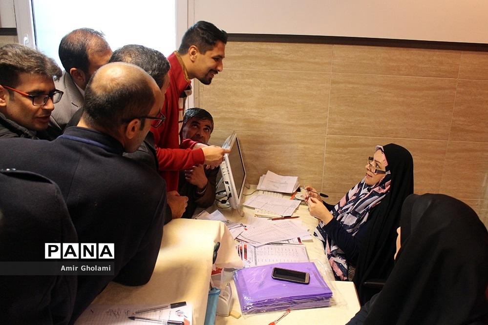 پذیرش شرکت کنندگان هشتمین جشنواره کرال فرهنگیان