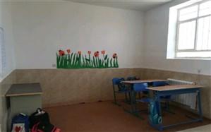 افتتاح یک باب مدرسه خیری در خاتم