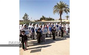 برگزاری المپیاد ورزشی درون مدرسهای مدرسه هفده شهریور بافق