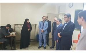 لحظه های پیامبرانه در دبیرستان شهید دکتر چمران منطقه ۱۷
