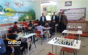 برگزاری مسابقات شطرنج آموزشگاهی در نی ریز