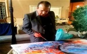 برپایی نمایشگاه نقاشی خط گروهی در یزد