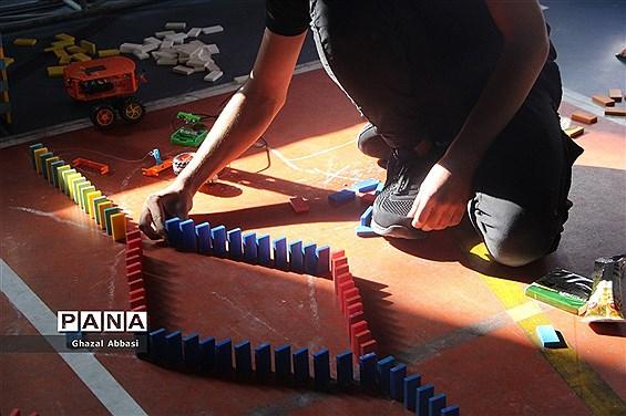 برگزاری مسابقات  دومینو در ناحیه یک شیراز